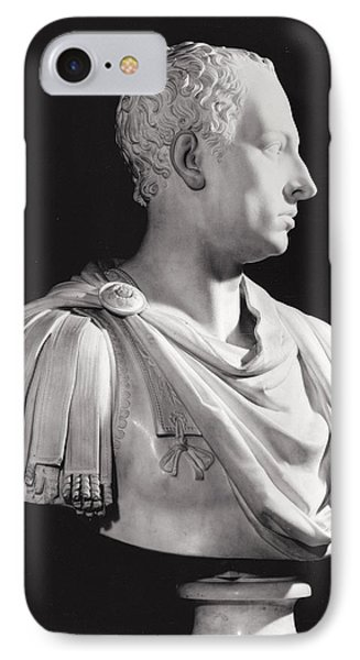 Portrait Bust Of Francis I 1708-65, Holy Roman Emperor IPhone Case by Antonio Canova