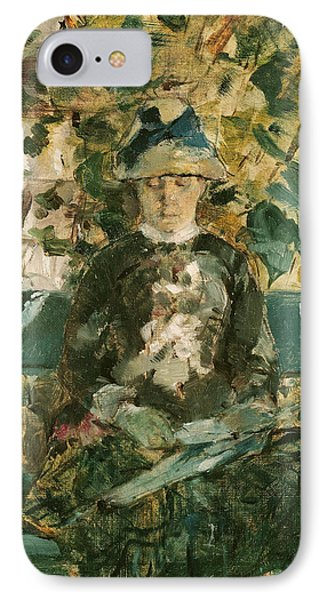 Portrait Of Adele Tapie De Celeyran IPhone Case by Henri de Toulouse-Lautrec