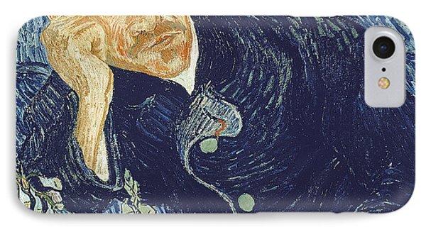Portrait Of Dr Gachet Phone Case by Vincent Van Gogh