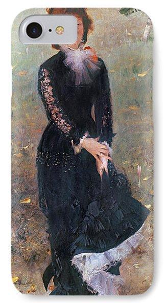 Portrait Of Madame Edouard Pailleron IPhone Case by John Singer Sargent