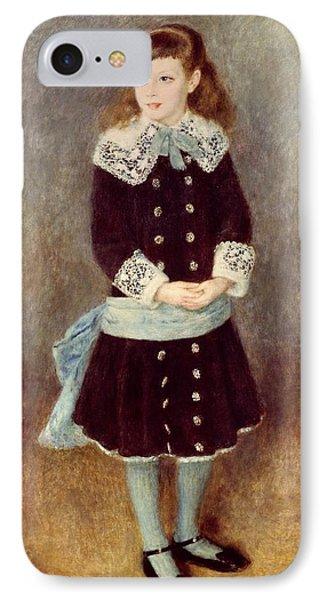 Portrait Of Martha Berard Phone Case by Pierre-Auguste Renoir