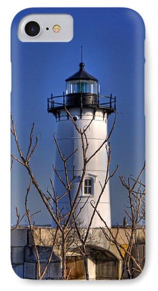 Portsmouth Harbor Light 3 IPhone Case by Joann Vitali