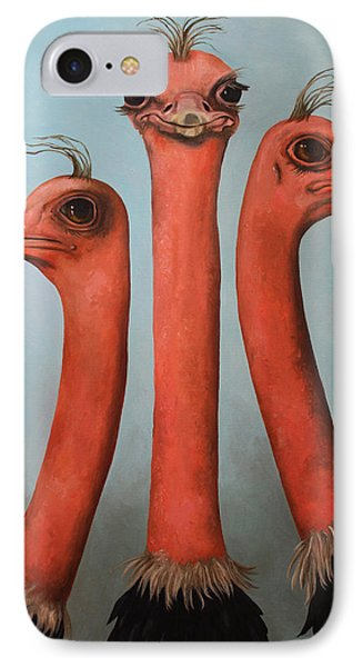 Posers 2 IPhone Case by Leah Saulnier The Painting Maniac