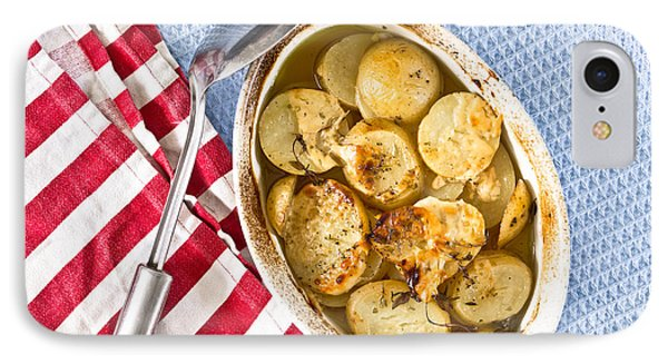 Potato Dish IPhone 7 Case by Tom Gowanlock
