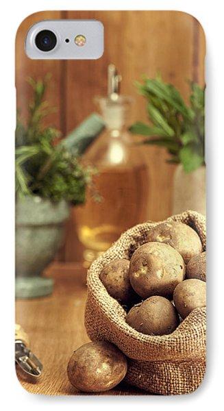 Potatoes IPhone Case by Amanda Elwell