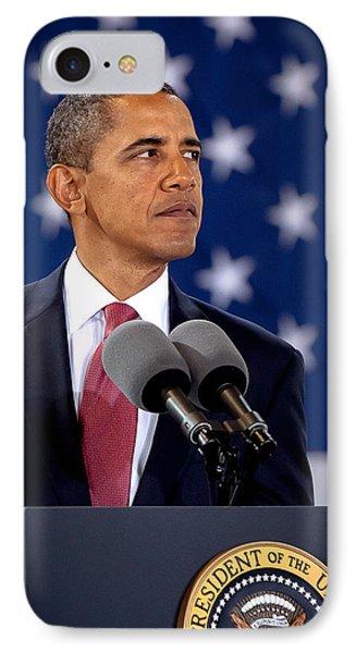 Obama Phone Case by Joshua Berman