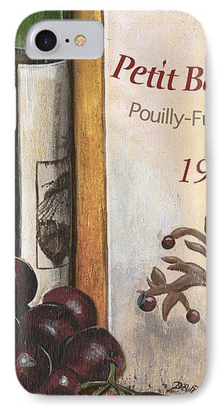 Pouilly Fume 1975 IPhone Case by Debbie DeWitt