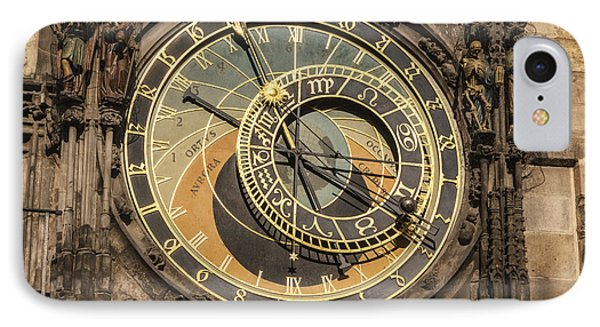 Prague Astronomical Clock Phone Case by Joan Carroll