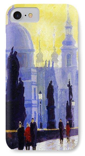 Prague Charles Bridge 03 Phone Case by Yuriy  Shevchuk