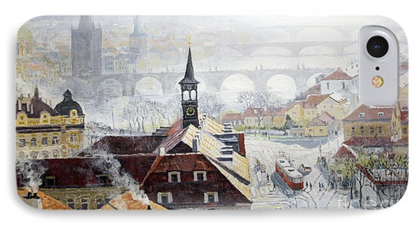Praha Early Spring  Phone Case by Yuriy Shevchuk