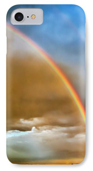 Prairie Rainbow Phone Case by Ellen Heaverlo