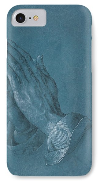 Praying Hands IPhone Case by Albrecht Durer