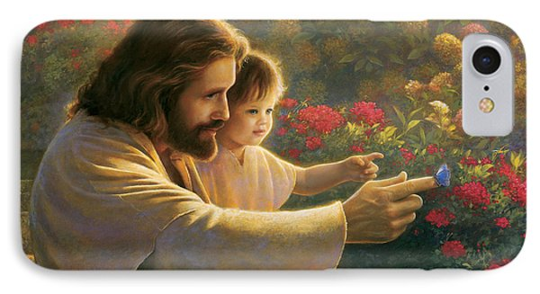 Precious In His Sight IPhone Case by Greg Olsen
