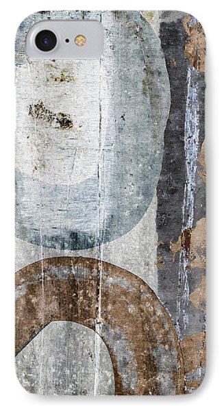 Silken Circles 1 IPhone Case by Carol Leigh