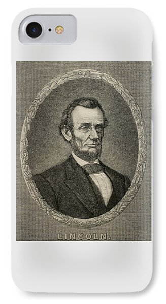 President Abraham Lincoln IPhone Case by American School