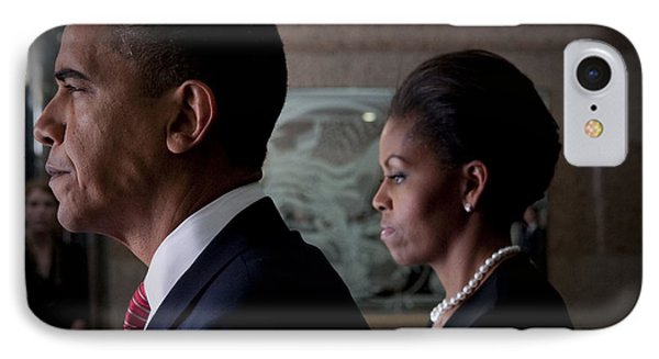 President And Mrs Obama Phone Case by Mountain Dreams