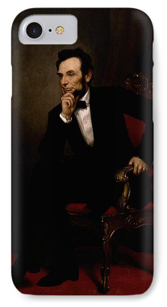 President Lincoln  IPhone Case by War Is Hell Store