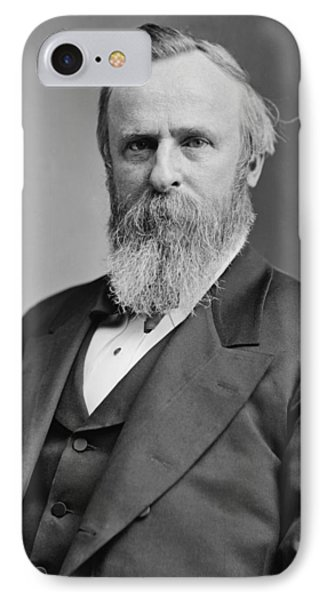 President Rutherford Hayes Phone Case by War Is Hell Store