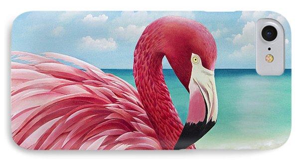 Pretty In Pink IPhone 7 Case by Carolyn Steele