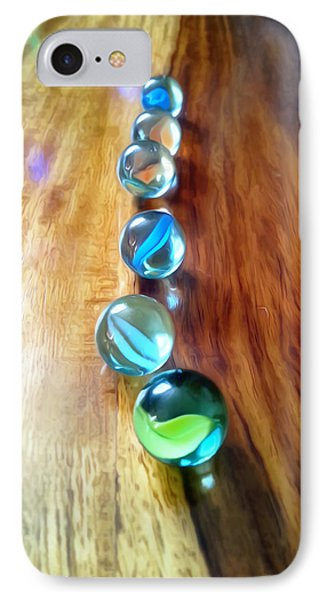 Pretty Marbles All In A Row Photograph By Isabella Abbie