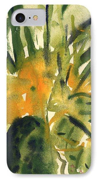 Primroses IPhone Case by Claudia Hutchins-Puechavy