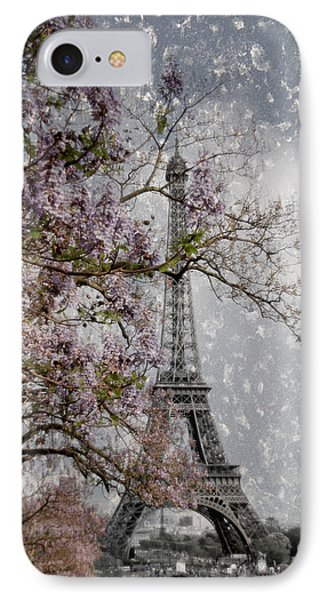 Printemps Parisienne IPhone 7 Case by Joachim G Pinkawa