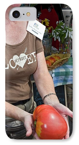 Produce At A Farmers Market IPhone Case by Jim West