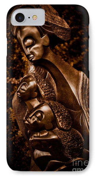 Protecting The Future Of My Children Phone Case by Venetta Archer