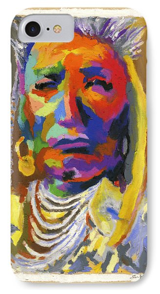 Proud Native American Phone Case by Stephen Anderson