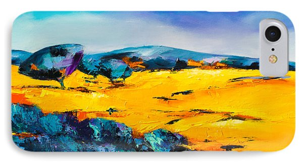 Provencal Countryside IPhone Case by Elise Palmigiani
