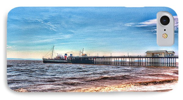 Ps Waverley At Penarth Pier 2 Phone Case by Steve Purnell