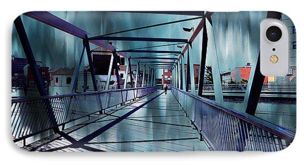 Puente De La Trinidad 1. Malaga Bridges. Spain Phone Case by Jenny Rainbow