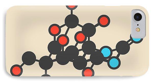 Pufferfish Neurotoxin Molecule IPhone 7 Case by Molekuul