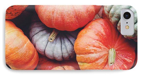 Pumpkins Galore IPhone Case by Kim Fearheiley