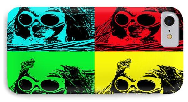 Puppy Mania Pop Art Phone Case by Ella Kaye Dickey