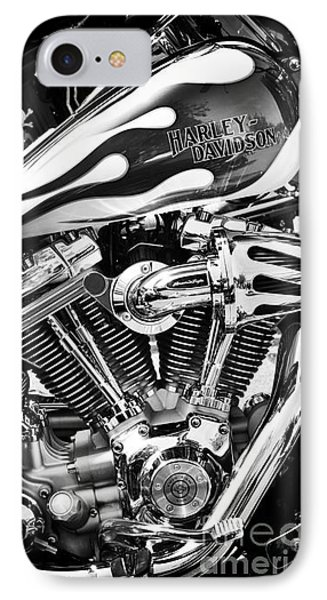 Pure Harley Chrome IPhone Case by Tim Gainey