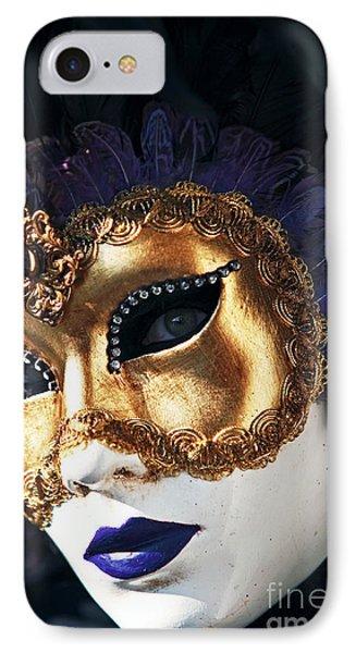 Purple Lips Phone Case by John Rizzuto