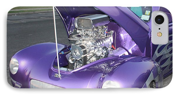 Purple Monster Phone Case by John Telfer
