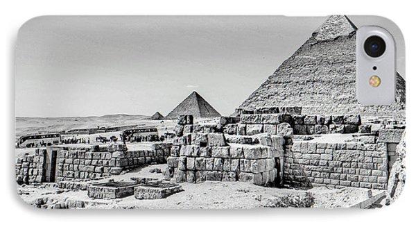 Pyramids  Phone Case by Karam Halim