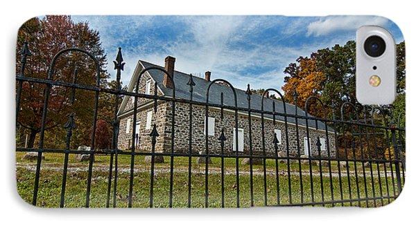 Quaker Meeting House - Warrington Phone Case by Mark Jordan
