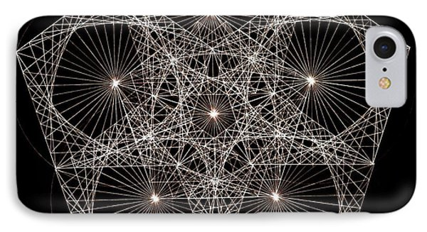 Quantum Star II IPhone 7 Case by Jason Padgett