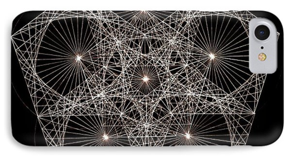 Quantum Star II IPhone Case by Jason Padgett