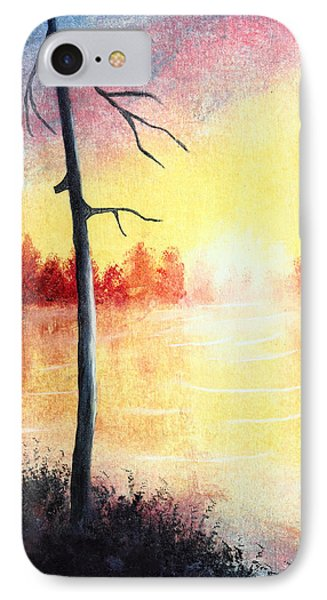 Quiet Evening By The River Phone Case by Nirdesha Munasinghe