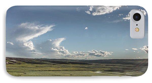 Quiet Prairie IPhone Case by Jon Glaser