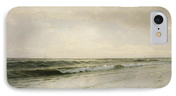 Quiet Seascape IPhone Case by William Trost Richards