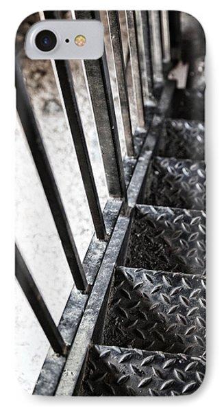 Quiet Stairwell Phone Case by Karol Livote