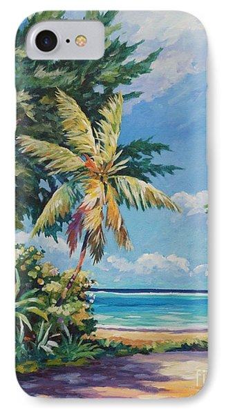 Quiet Stretch Of Beach IPhone Case by John Clark