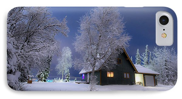 Quiet Winter Times Phone Case by Ron Day