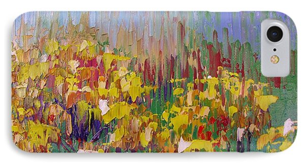 Rabbit Brush Abstracted Phone Case by Margaret Bobb