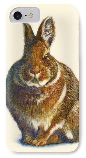 Rabbit IPhone 7 Case by Catherine Noel